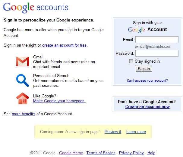 googleoldsigninpage