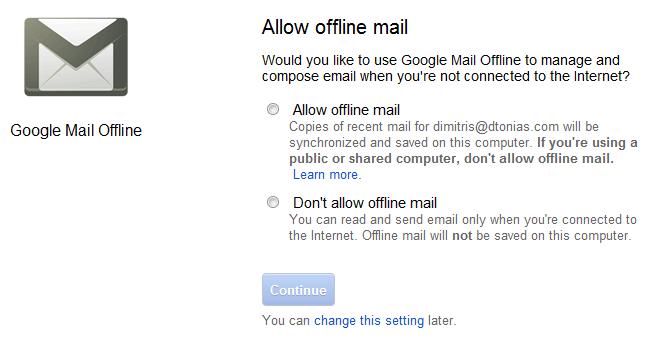 allowofflinemail