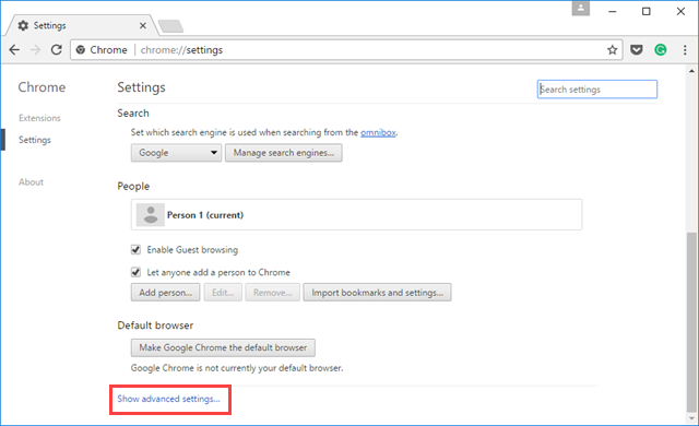 Πώς να αλλάξετε τη γλώσσα εμφάνισης στον Chrome