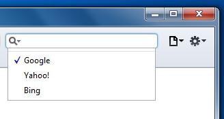 Safari search engines