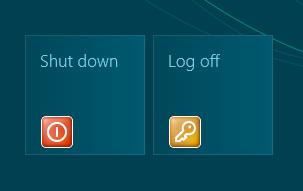 shortcut tiles