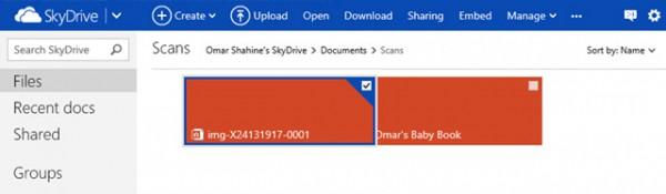 SkyDrive.com, βελτιωμένα χαρακτηριστικά με HTML5