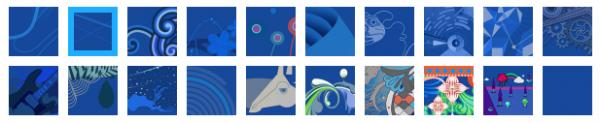 Windows 8 Start Screen, αλλαγή χρωμάτων και σχεδίων
