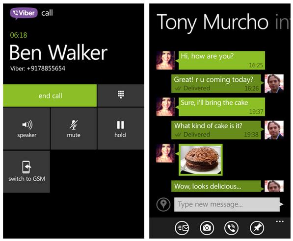 Viber app, τώρα με HD κλήσεις στα Windows Phone 8