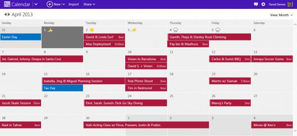 Outlook.com Calendar, το ημερολόγιο επιτέλους ανανεώθηκε