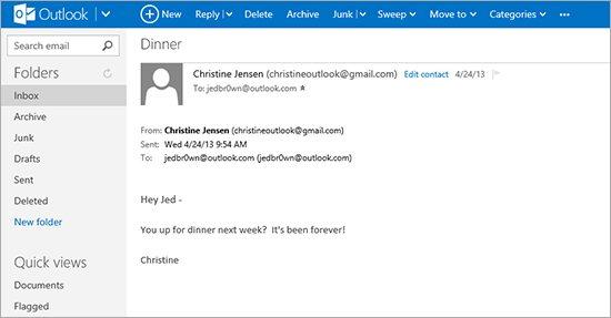 Outlook.com με 400 εκ. χρήστες, το Hotmail είναι επίσημα παρελθόν