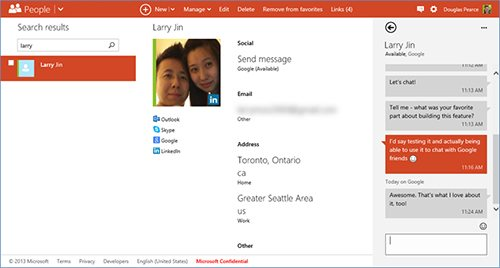 Το Google Chat έρχεται στο Outlook.com, συνομιλία με Gmail επαφές