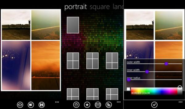 Phototastic app, κολάζ φωτογραφιών στα Windows Phone 8