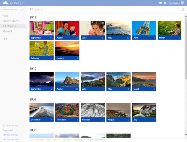 SkyDrive, βελτιώσεις στο ανέβασμα και διαχείριση φωτογραφιών