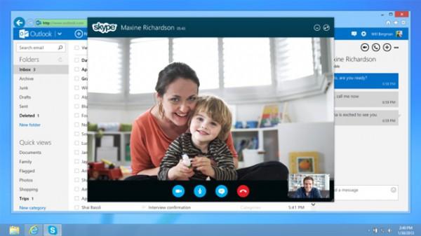 Το Skype ήρθε στο Outlook.com, βίντεο-κλήσεις μέσω του browser