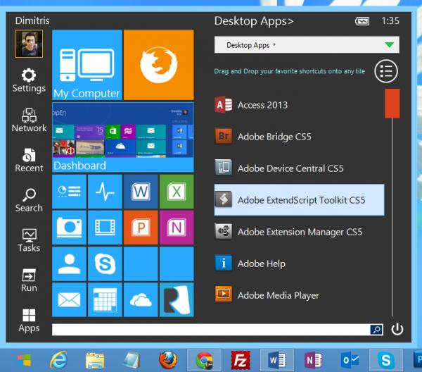 Start Menu Reviver, το μενού Start που έψαχνες στα Windows 8