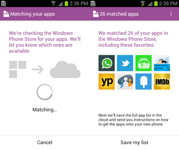 Switch to Windows Phone app, η Microsoft θέλει κατόχους Android