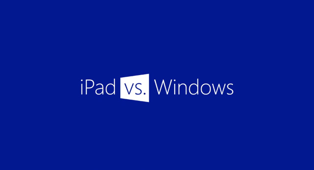 iPad vs Windows RT tablets, νέο συγκριτικό από τη Microsoft