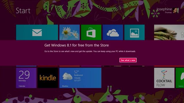 Windows 8.1, πώς θα γίνει η αναβάθμιση από τα Windows 8