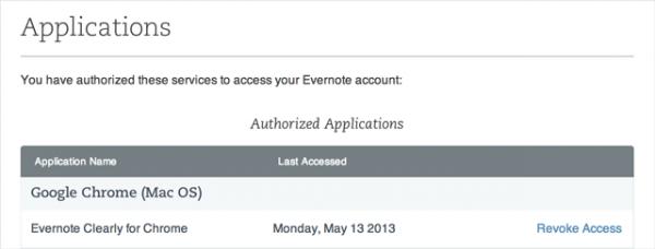 Evernote, νέα χαρακτηριστικά ασφαλείας και 2-step verification