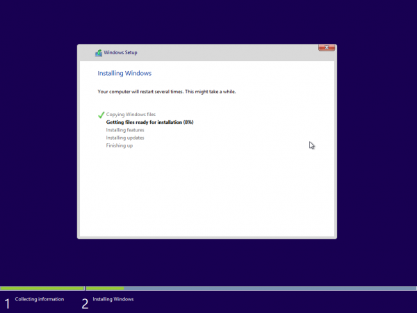 Windows 8.1 Preview, εγκατάσταση από την αρχή (Clean Install)