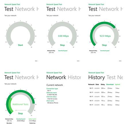 Network Speed Test app, μέτρησε την ταχύτητα της σύνδεσης σου