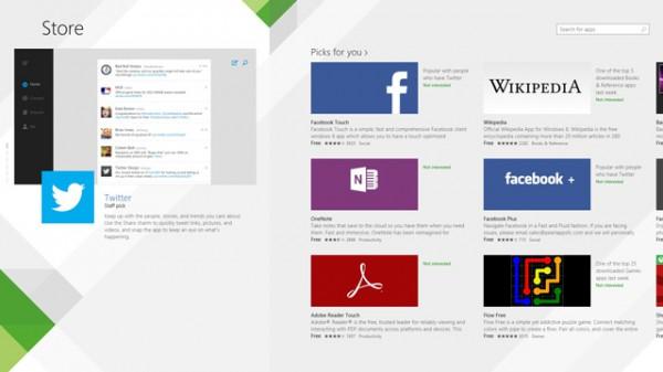 Το Windows Store ξεπέρασε τις 100.000 εφαρμογές