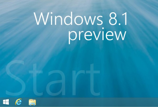 Πώς λειτουργεί το κουμπί Start στα Windows 8.1 Preview