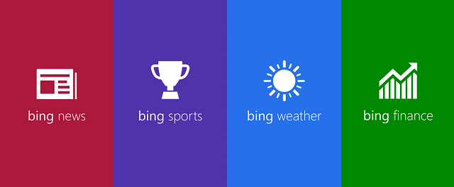 Bing News, Sports, Weather και Finance τώρα στα Windows Phone 8