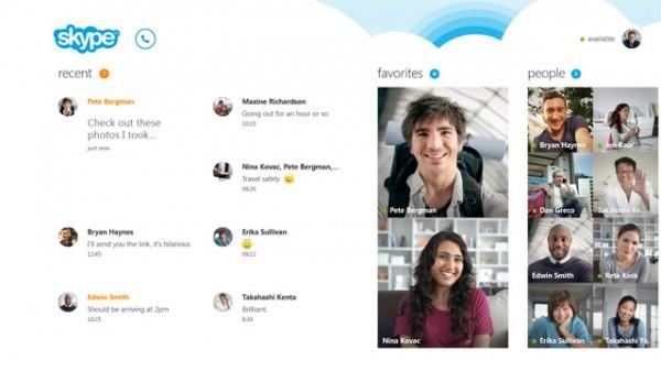 Το Skype σε όλα τα Windows 8.1 PC και tablets