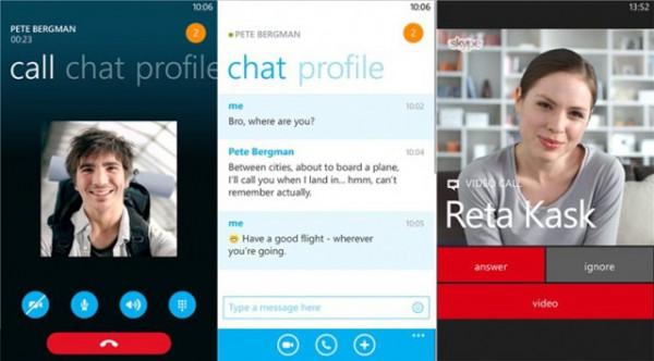 Τα video-μηνύματα ήρθαν στο Skype για Windows Phone 8