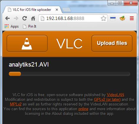 Μεταφορά αρχείων στο iPhone με το VLC χωρίς iTunes