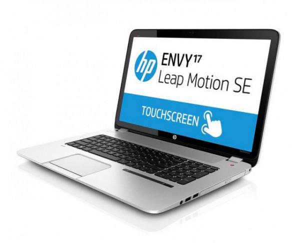 HP Envy 17 με Leap Motion για έλεγχο του PC με κινήσεις στον αέρα