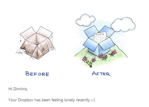 Το Dropbox με ζητάει πίσω αλλά η καρδιά μου πλέον είναι αλλού