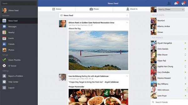 Facebook app επιτέλους επίσημα στα Windows 8.1 και το Windows Store