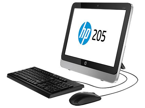 HP 205 G1, κομψό και οικονομικό All-in-One PC για βασικές εργασίες