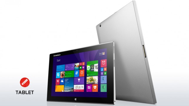 Lenovo Miix 2, νέα Windows 8.1 tablets