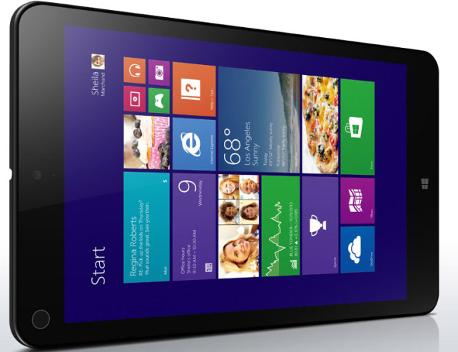 Lenovo ThinkPad 8, το πρώτο HiDPI Windows 8.1 mini tablet