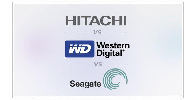 Western Digital, Seagate ή Hitachi; Ποιοι σκληροί δίσκοι είναι πιο αξιόπιστοι;