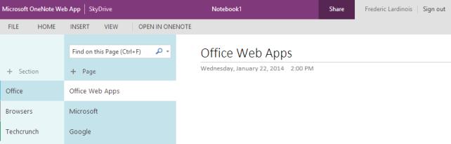 Νέα εμφάνιση στα Office Web Apps, flat design παντού