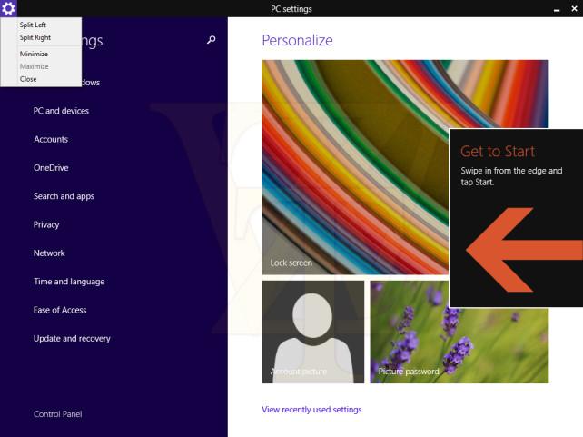 Windows 8.1 Update 1 leak, το desktop ζει