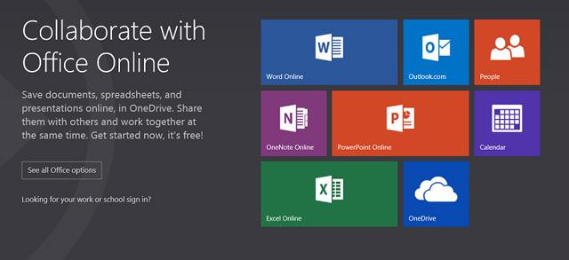 Το Office Online ήρθε και φέρνει Word, Excel, PowerPoint και OneNote δωρεάν και online