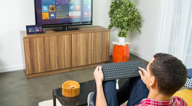 Microsoft All-in-One Media Keyboard, αυτό είναι για το σαλόνι σου