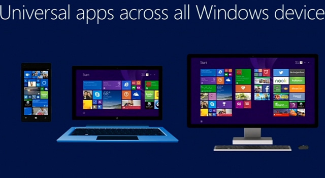Universal apps, κοινός κώδικας για Windows 8.1, Windows Phone 8.1 και Xbox One