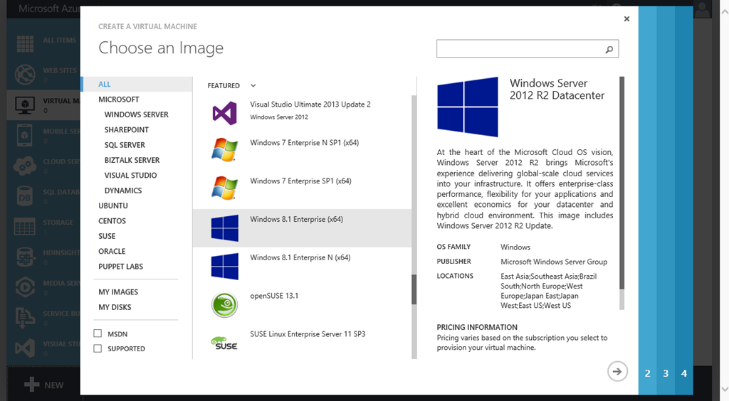Windows 7 και 8.1 διαθέσιμα στο Azure για ανάπτυξη εφαρμογών