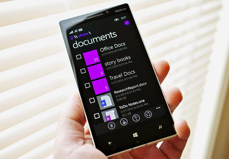 Files app, τα Windows Phone 8.1 αποκτούν file manager τον Ιούνιο