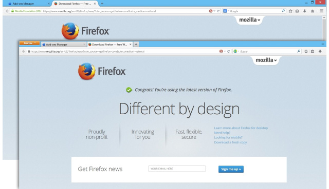 Firefox Classic Theme Restorer, επανέφερε την προηγούμενη εμφάνιση του browser