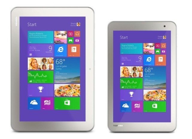 Toshiba Encore 2, δύο νέα οικονομικά tablets  με τιμή από $199