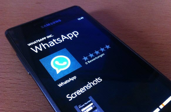 WhatsApp, πρόβλημα στα Windows Phone 8 αλλά θα διορθωθεί σύντομα