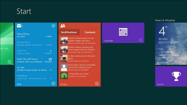 Interactive Tiles, το επόμενο βήμα για την οθόνη Έναρξης στα Windows 8.1