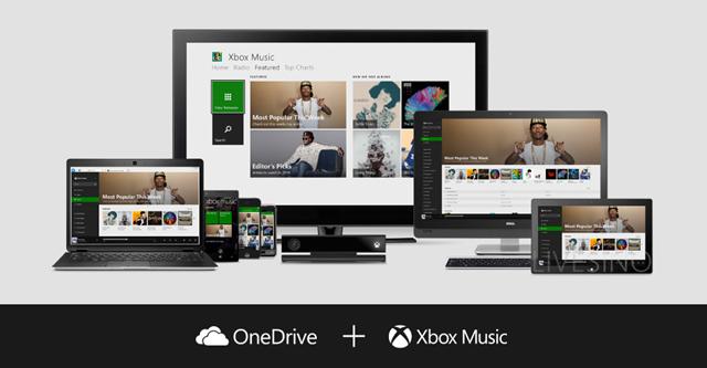 Xbox Music και OneDrive μαζί για streaming της μουσικής σας συλλογής