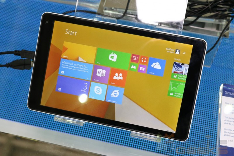 Emdoor EM-i8080 με τιμή $100 και Windows 8.1, πιο φθηνό δε γίνεται