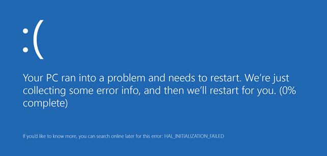 Απενεργοποίηση αυτόματης επανεκκίνησης υπολογιστή στα Windows 8 και 8.1
