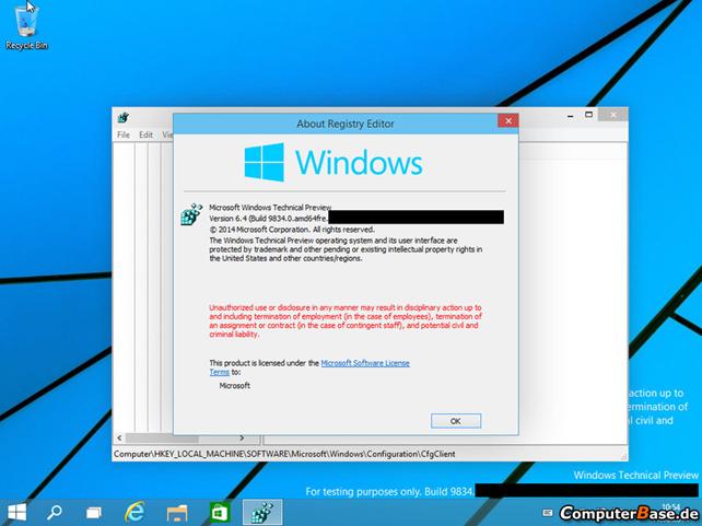 Windows 9, το πρώτο leak με εικόνες της νέας έκδοσης