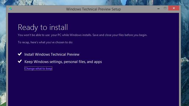 5 τρόποι για να εγκαταστήσετε τα Windows 10 Technical Preview